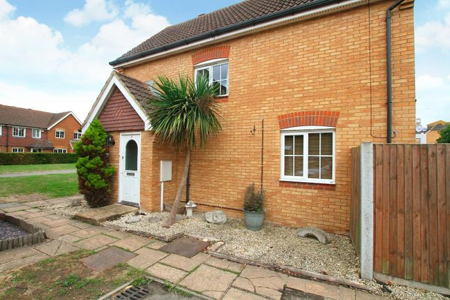 Thumbnail End terrace house for sale in Hazel Court, Hersden, Canterbury