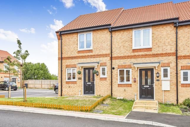 Thumbnail End terrace house for sale in Tulip Avenue, Colburn, Catterick Garrison, North Yorkshire