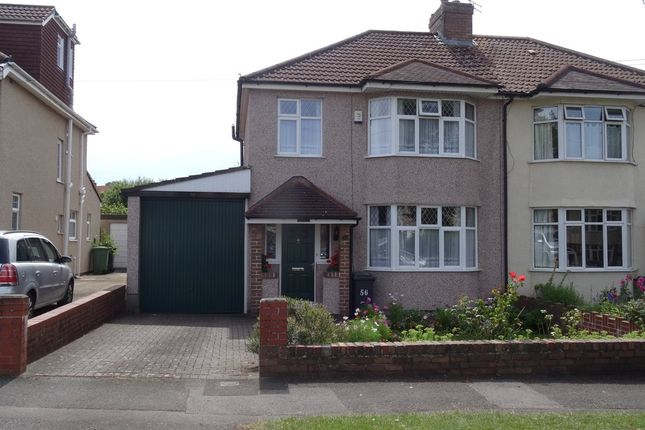 Thumbnail Semi-detached house for sale in Dunkeld Avenue, Filton, Bristol
