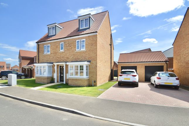 Thumbnail Detached house for sale in Mallard Way, Exning, Newmarket