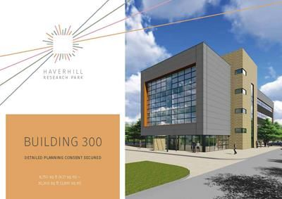 Thumbnail Office for sale in Haverhill Research Park, Plot 300, Haverhill, Suffolk