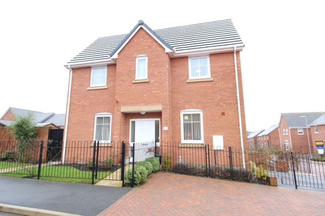Thumbnail Detached house for sale in Sutton Avenue, Silverdale, Newcastle