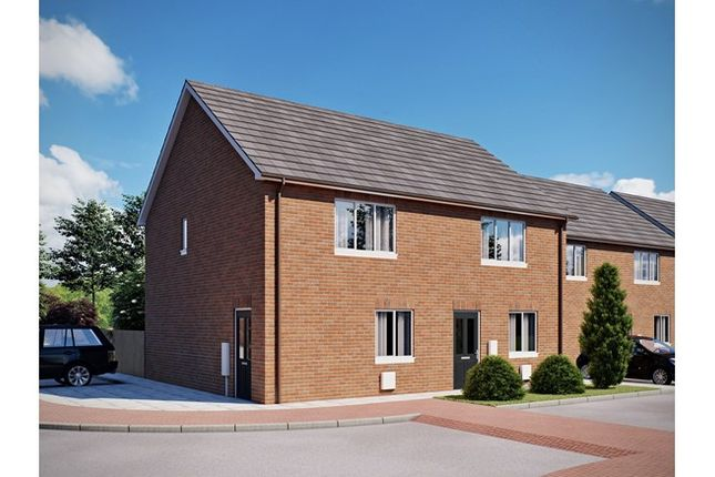 2 bedroom semi-detached house for sale in 15, Elizabeth Whitnell Grove, Earl Shilton, Leicestershire