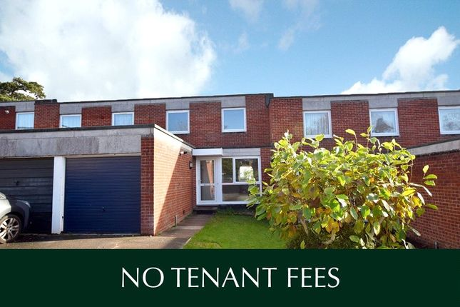 Thumbnail Terraced house to rent in Lebanon Close, Exeter