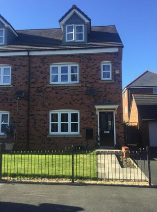 Thumbnail Town house for sale in Belmont Grove, Anfield, Liverpool