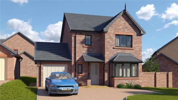 Thumbnail Detached house for sale in Plot 31 The Derwent, St. Cuthberts, Off King Street, Wigton