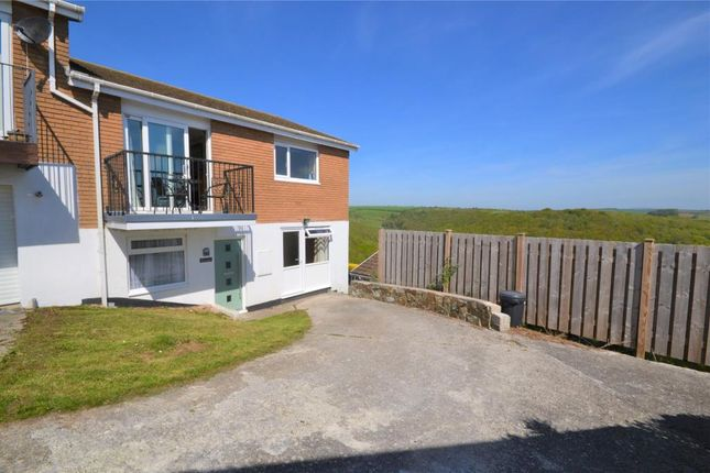 Thumbnail 4 bed semi-detached house for sale in Goonrea, The Downs, West Looe, Cornwall