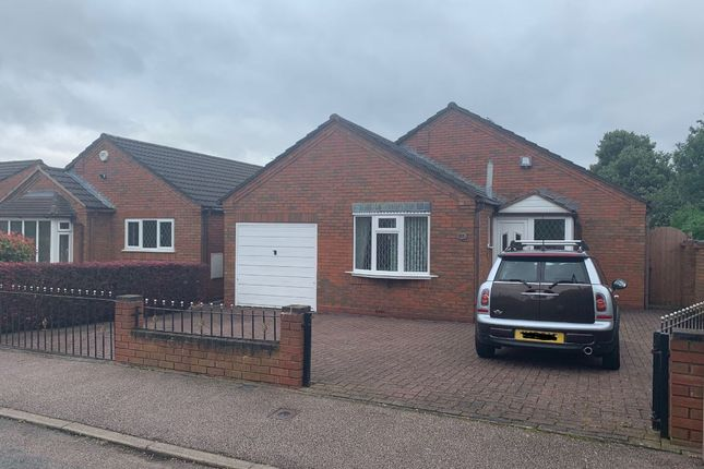 Thumbnail Detached bungalow for sale in Burton Old Road West, Lichfield