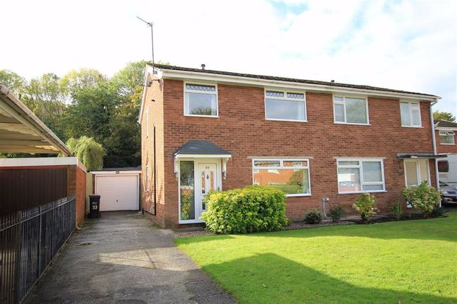 Thumbnail Semi-detached house for sale in Deans Close, Bagillt, Flintshire