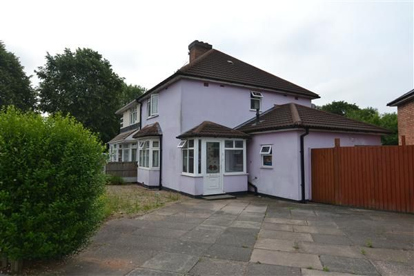 Thumbnail Semi-detached house for sale in Colindale Road, Kingstanding, Birmingham