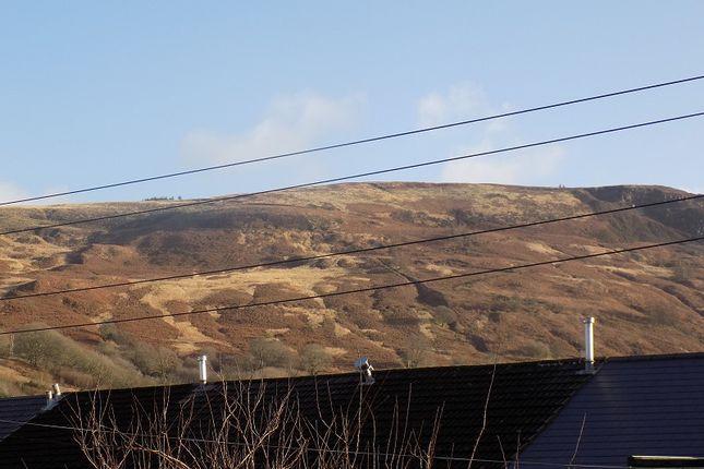 Views of River Terrace, Treorchy, Rhondda Cynon Taff. CF42