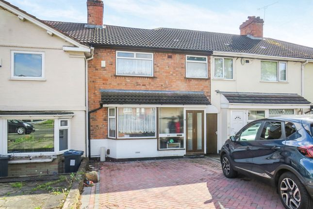 Thumbnail Terraced house for sale in Perry Common Road, Erdington, Birmingham