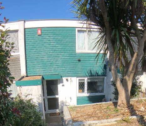 Thumbnail 2 bed terraced house to rent in Bulteel Gardens, Southway, Plymouth