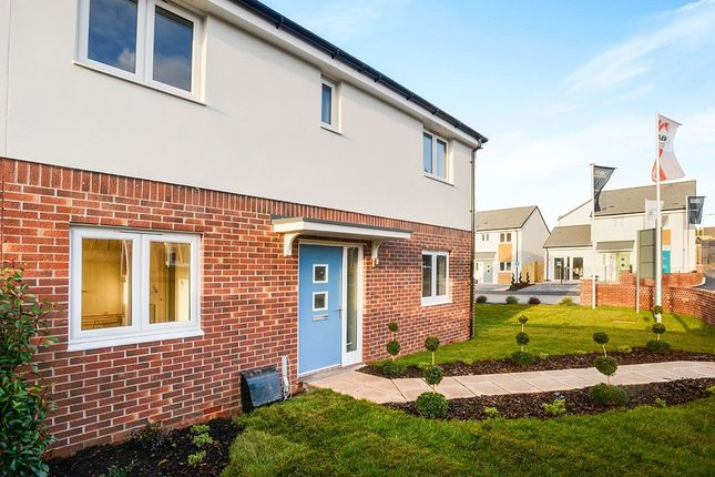 Thumbnail Detached house for sale in Nightingale Close, Sherford, Plymouth