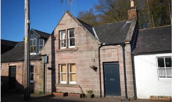 Thumbnail 2 bed terraced house to rent in Carronbridge, Thornhill