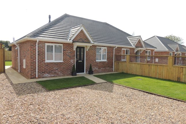 Thumbnail Semi-detached bungalow for sale in Loddon Road, Ditchingham, Bungay