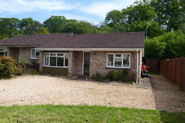 Thumbnail Terraced bungalow to rent in Heathfield, Bagborough, Taunton