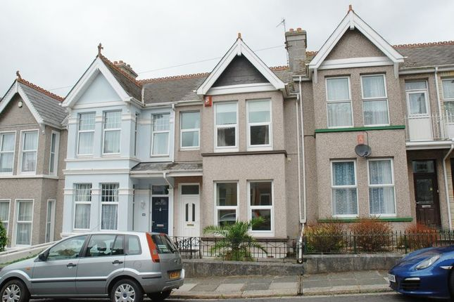 Thumbnail Terraced house to rent in Quarry Park Road, Peverell, Plymouth