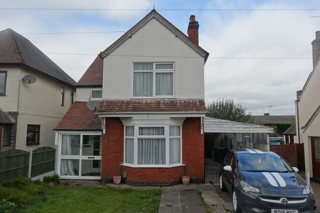 Thumbnail Detached house to rent in Ansley Road, Nuneaton