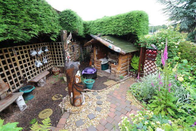 Side Garden of Moore Close, Newton Abbot TQ12