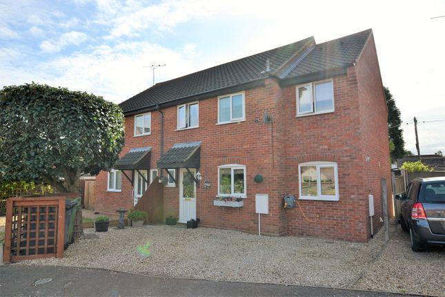 Thumbnail Semi-detached house for sale in Nightingale Close, Fakenham