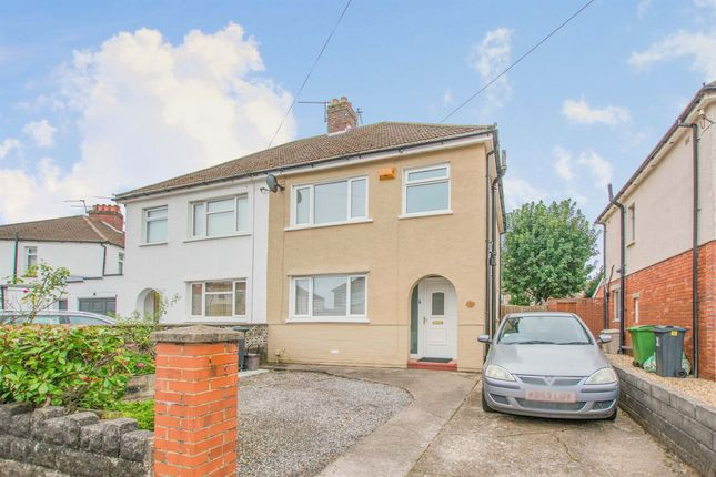3 bed semi-detached house for sale in Heol Coed Cae, Whitchurch, Cardiff CF14
