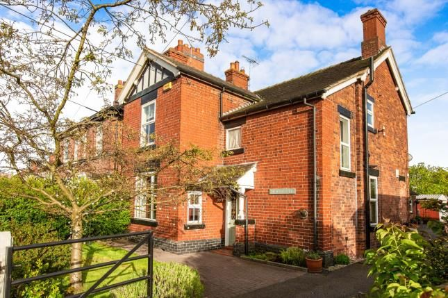 Thumbnail Detached house for sale in Heath Road, Sandbach, Cheshire
