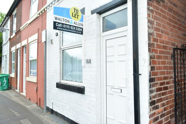 Thumbnail Terraced house to rent in Vernon Place, Northern Court, Bulwell, Nottingham