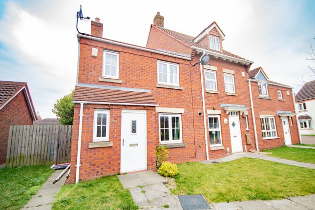 Thumbnail End terrace house to rent in Rivelin Park, Kingswood, Hull