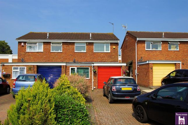 Thumbnail Semi-detached house for sale in Lincoln Close, Tewkesbury, Gloucestershire