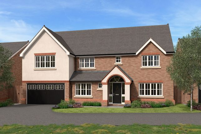 Thumbnail Detached house for sale in Stableford, Newtown Road, Worcester