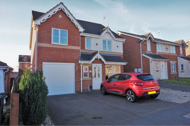 Thumbnail Detached house for sale in Darien Way, Thorpe Astley, Leicester