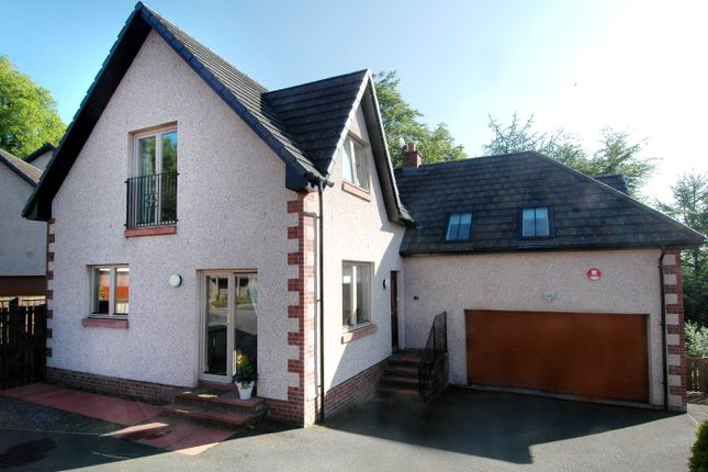 Thumbnail Detached house for sale in Priory Park, Selkirk