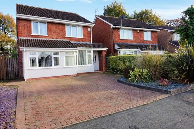Thumbnail Detached house for sale in Blackbrook Way, Wolverhampton