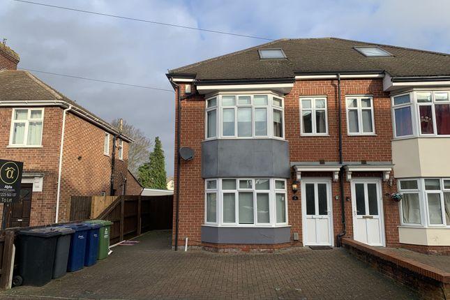 Thumbnail Semi-detached house to rent in Elfleda Road, Cambridge, Cambridgeshire