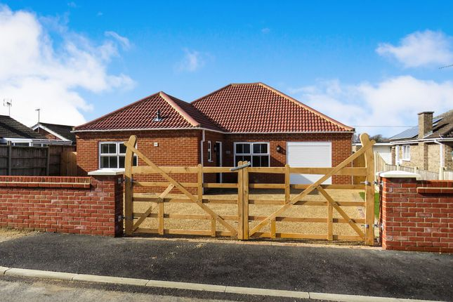 Thumbnail Detached bungalow for sale in Tower Road, Hilgay, Downham Market