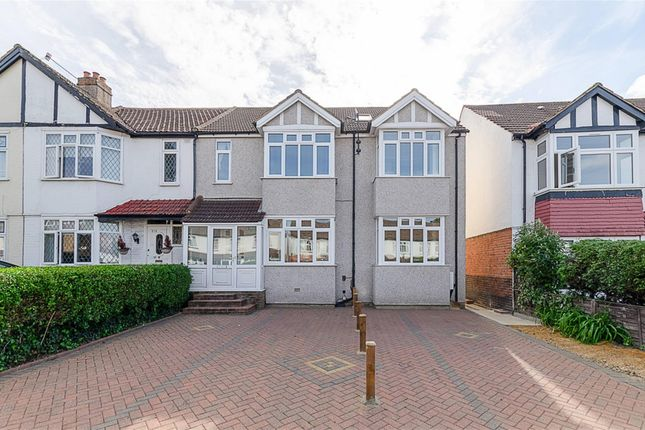 Thumbnail End terrace house for sale in Malden Road, Cheam, Surrey