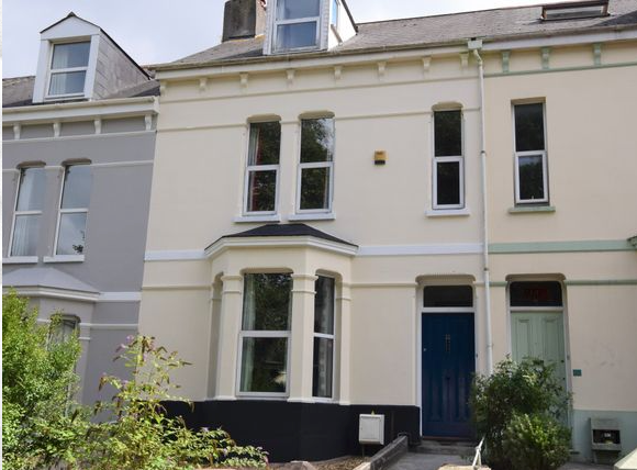 Thumbnail Semi-detached house for sale in Alexandra Road Mutley, Plymouth