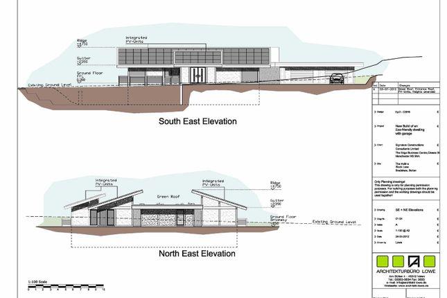 Thumbnail Land for sale in Building Plot, Off Slack Lane Bradshaw Road, Harwood