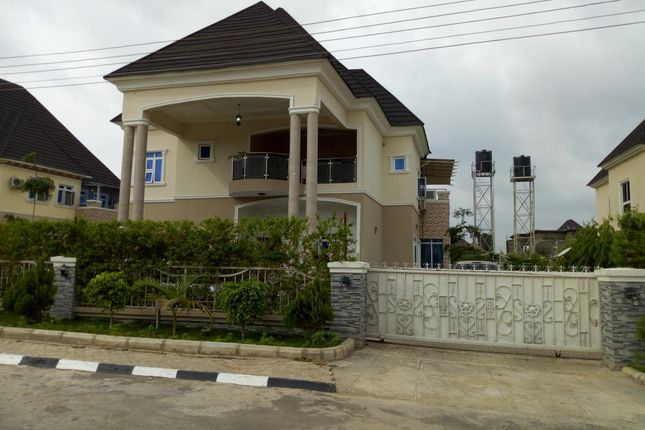 Thumbnail Detached house for sale in 5 Bedroom Detached Duplex Without Swimming Pool Or Bq, Airport Road Abuja, Nigeria