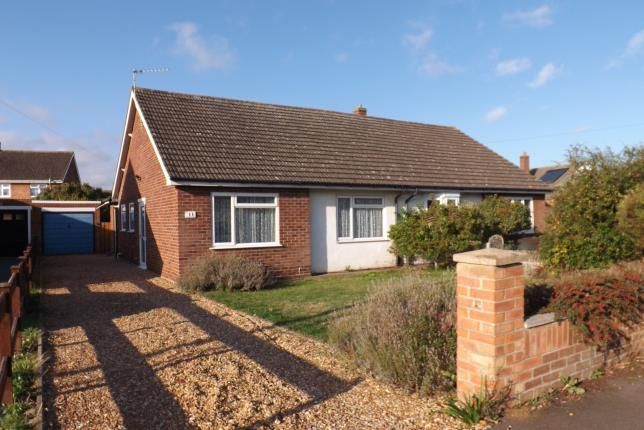 Thumbnail Bungalow for sale in Courtlands Drive, Biggleswade, Bedfordshire