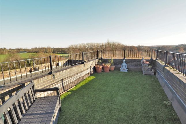 Thumbnail Flat for sale in Penthouse Apartment, Greet Lily Mill, Station Road, Southwell