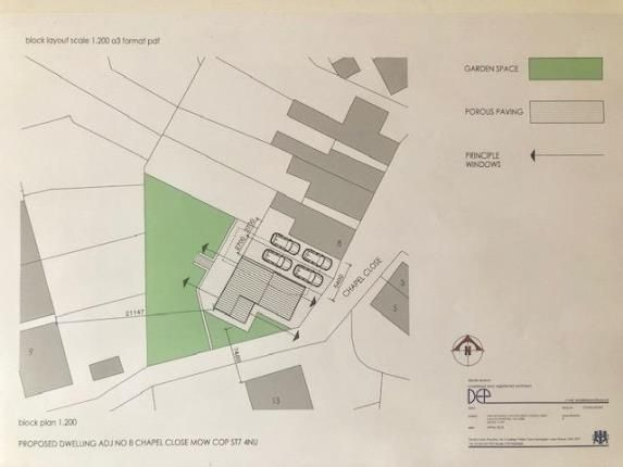 Thumbnail Land for sale in Chapel Close, Mow Cop, Stoke-On-Trent, Cheshire