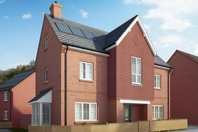 """Thumbnail Detached house for sale in """"The Heathfield"""" at Winchester Road, Fair Oak, Eastleigh"""