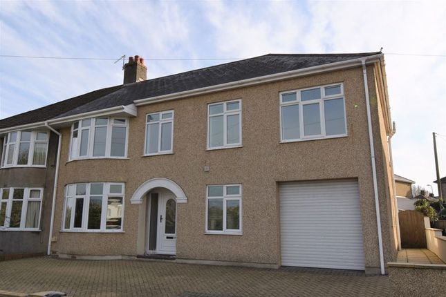 Thumbnail Semi-detached house for sale in 59 Priory Avenue, Bridgend