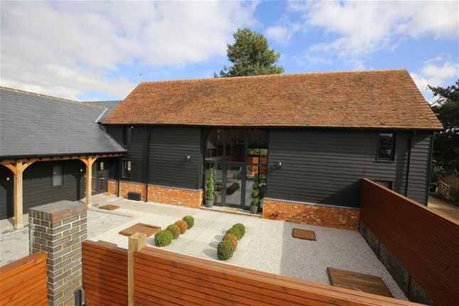 Thumbnail Barn conversion for sale in Cobbinsend Road, Upshire, Essex