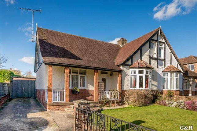 Thumbnail Semi-detached bungalow for sale in Northumberland Avenue, Ashford, Kent