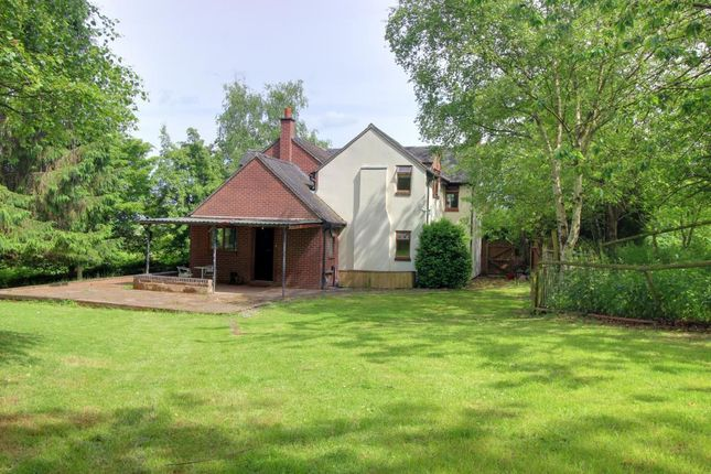 Thumbnail Detached house for sale in Wood Edge Lane, Marchington, Uttoxeter