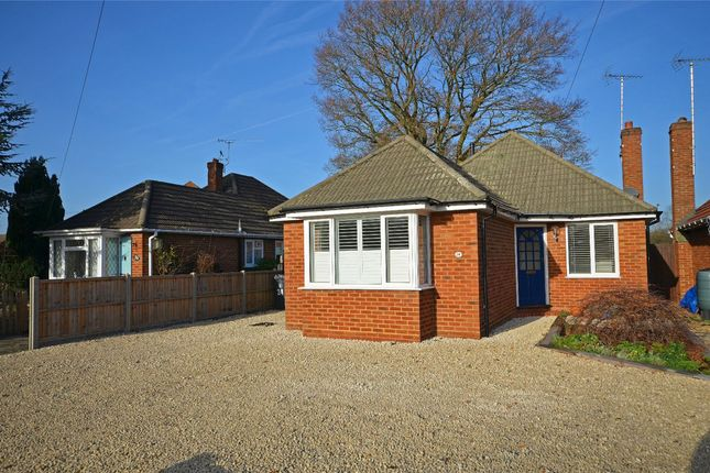 Thumbnail Detached bungalow for sale in White Acres Road, Mytchett, Camberley, Surrey