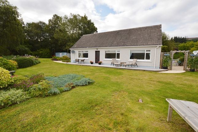 Thumbnail Detached bungalow for sale in Pinecroft, Auchterawe Road, Fort Augustus, Highland.